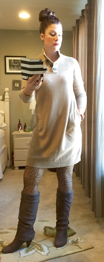 Fashion Friday Sweater Dress