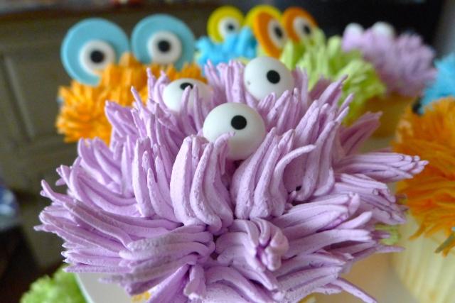 Monster Cupcake Closeup 3