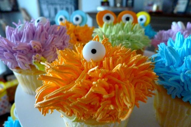 Monster Cupcake Closeup 2