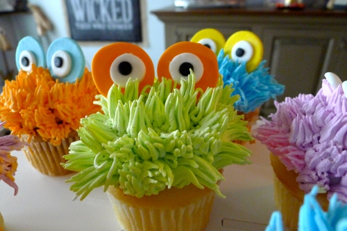 Monster Cupcake Closeup 1