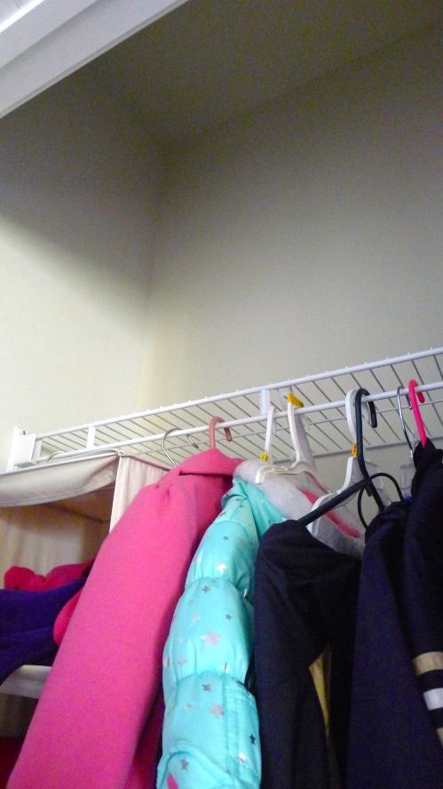 Coat Closet Unused Space