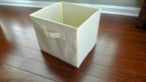Canvas Basket