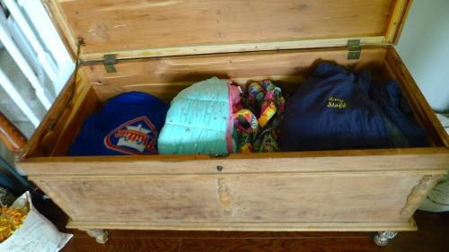 Living Room Cedar Chest Contents