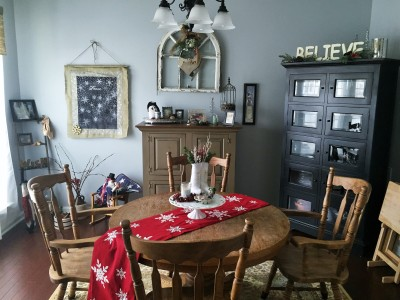 Dining Room Winter