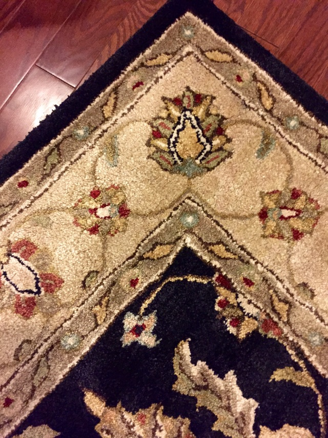 Area Rug Close Up