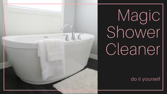 Magic DIY Shower Cleaner Control Freak Chronicles - Diy bathroom cleaner